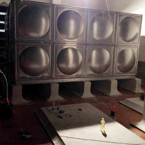 xia门不锈钢方形水箱实用案例