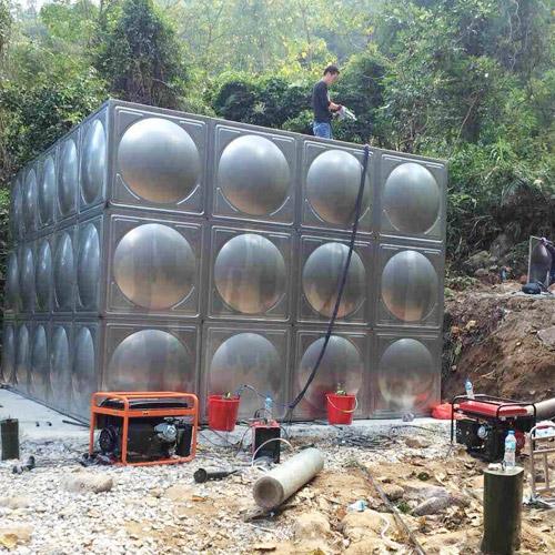 xia门方形xiao防不锈钢水箱实用案例